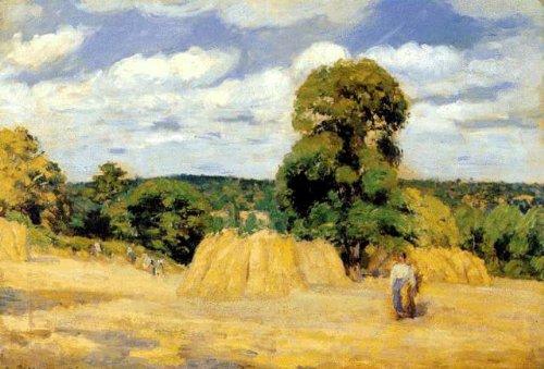 纯粹的田园风景画家——毕沙罗作品欣赏(转) - cseh - 坐看云飞的博客